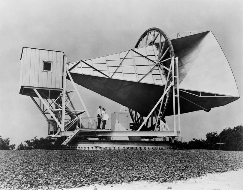 The Holmdel Horn Antenna was able to see the Big Bang.