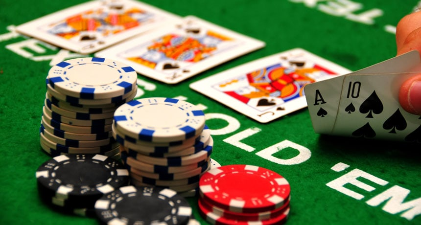 In Poker, players know their own cards, but can only guess what their opponents have.