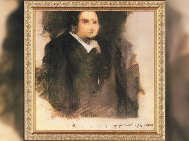 """""""Portrait of Edmond De Belamy"""" was generated by an Artificial Intelligence."""