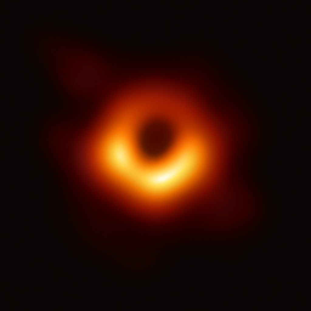 The supermassive black hole at the center of Galaxy M87. Image Credit: Event Horizon Telescope