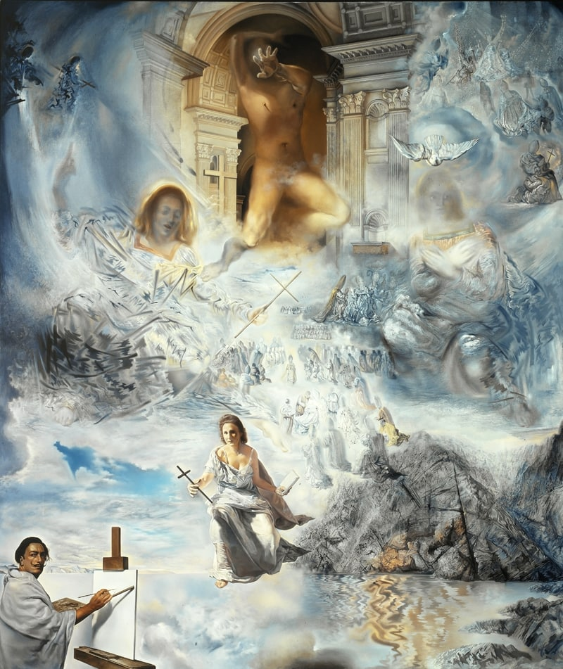 """Salvador Dalí was fascinated by Teilhard de Chardin's Omega Point theory, which partly inspired his 1960 masterpiece """"The Ecumenical Council"""""""