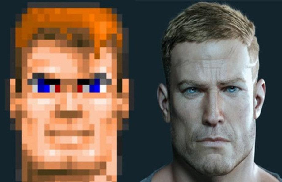 """Compare realism of """"Wolfenstein 3D"""" (1992) to """"Wolfenstein: The New Order"""" (2014)"""